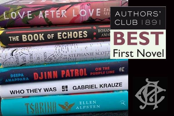 Authors' Club Best First Novel Award Dinner
