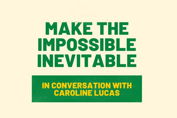 Sustainability Forum Hybrid Event with Caroline Lucas
