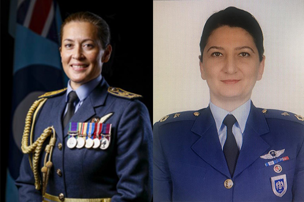 Air Force Women - Reaching for the Skies